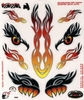EYES TRIBAL STICKERSET HOT DECO VEL 200 X 240 MM